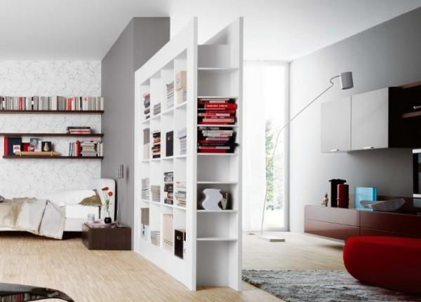 Estanter as abiertas para dividir ambientes casa y color - Dividir ambientes ...