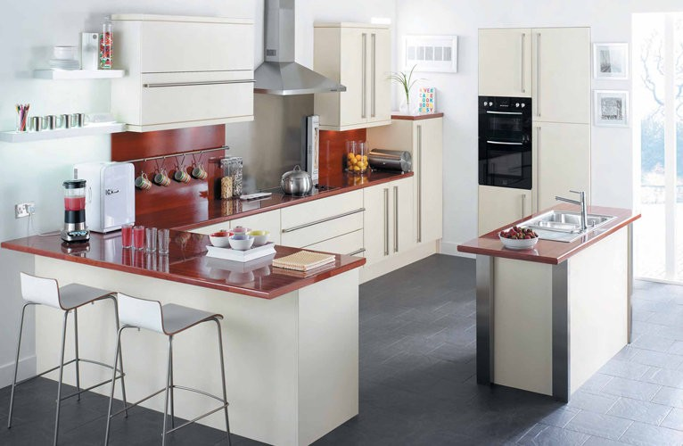 qu es una cocina integral casa y color