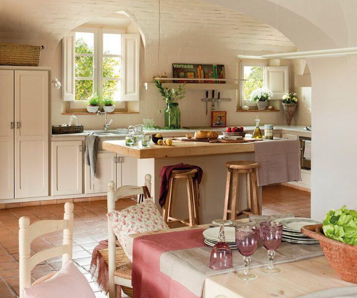 Cocina estilo mediterráneo - Casa y Color