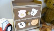 Crea llamativos muebles infantiles