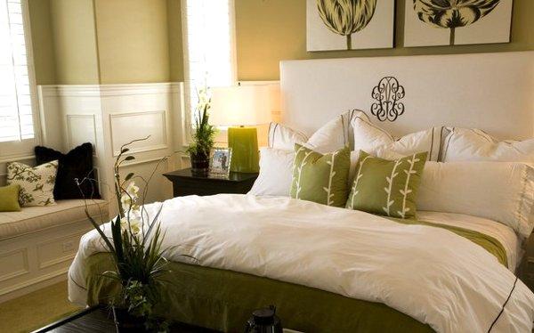 Decoraci n con almohadones casa y color - Decorar cama con cojines ...