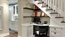 Improvisa un espacio de trabajo en casa