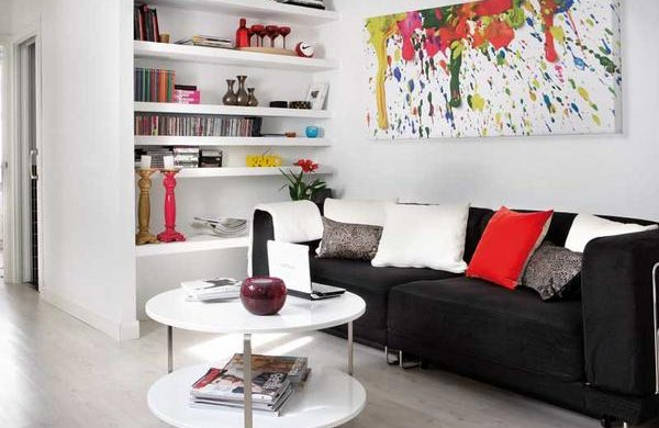 Departamento de soltero algunas ideas casa y color for Departamentos modernos chicos