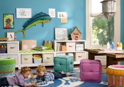 Creando un playroom o sala de juegos para niños