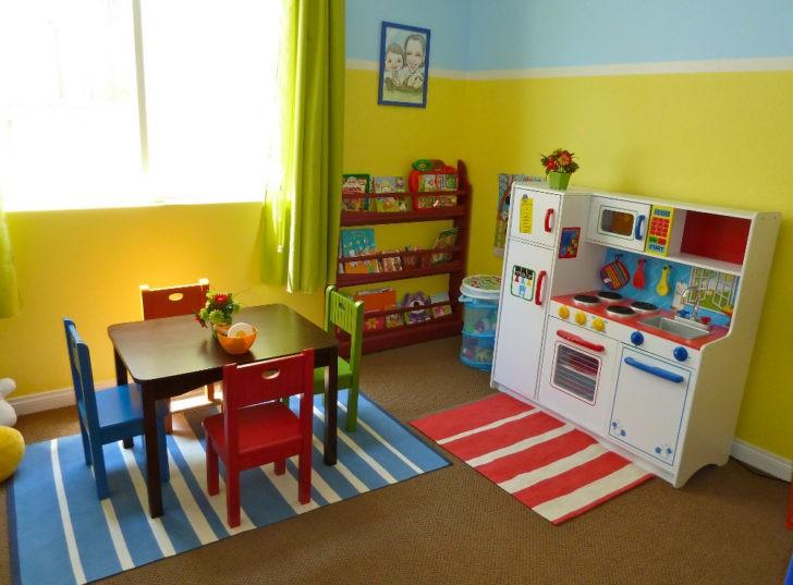 Sala infantil pequeña