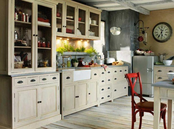 cocinas con decoraci n vintage cocinas adorables casa y color. Black Bedroom Furniture Sets. Home Design Ideas