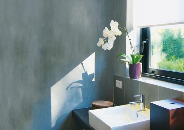 Pintura efecto cemento