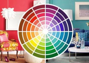 Colores fríos y cálidos crean una sensación de temperatura en interiores