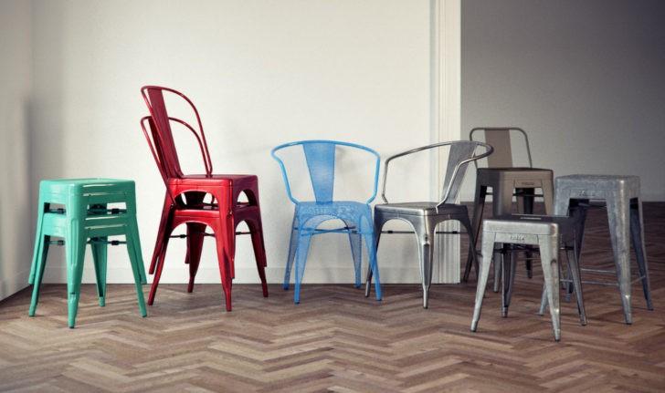 Colección completa de sillas tolix