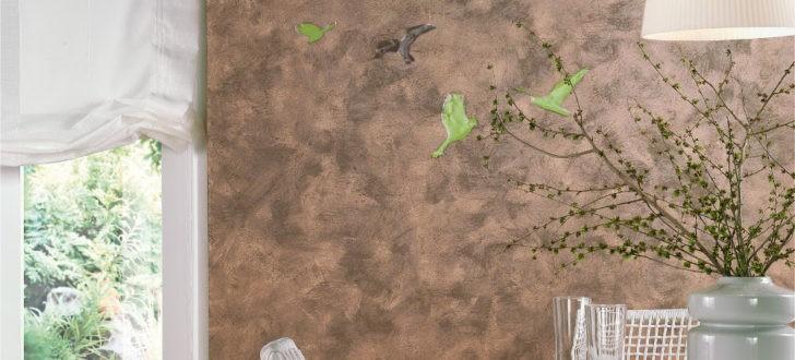 Efectos decorativos con distintas técnicas de pintura