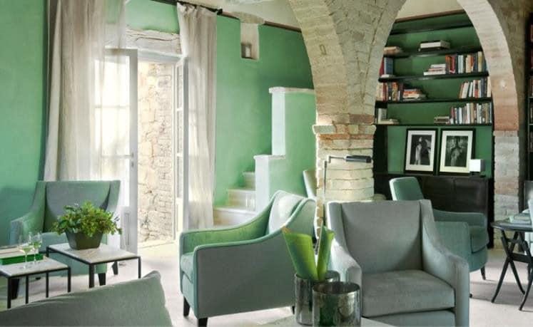 Los verdes c mo combinarlos casa y color for Que color de fachada elegir