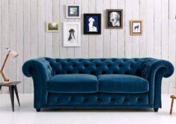El sofá Chesterfield, clásico y moderno.