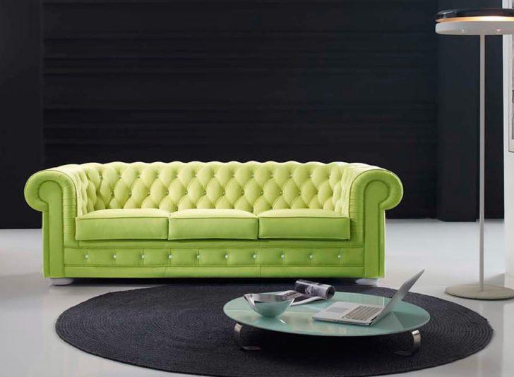 Sofa chester verde