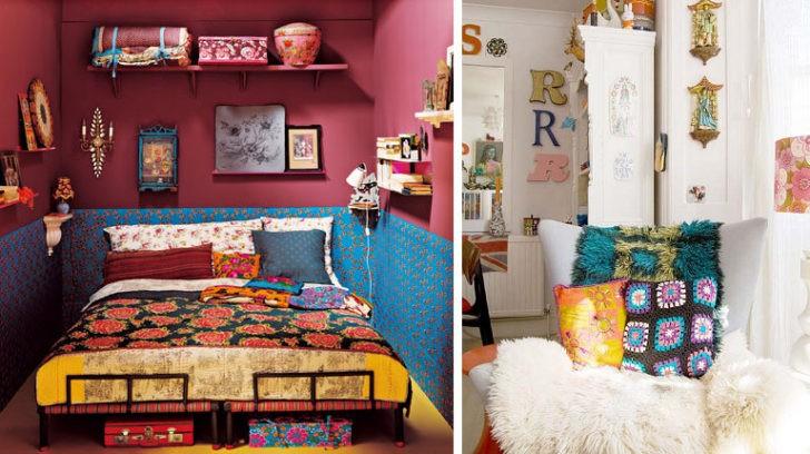 dormitorio kitsch