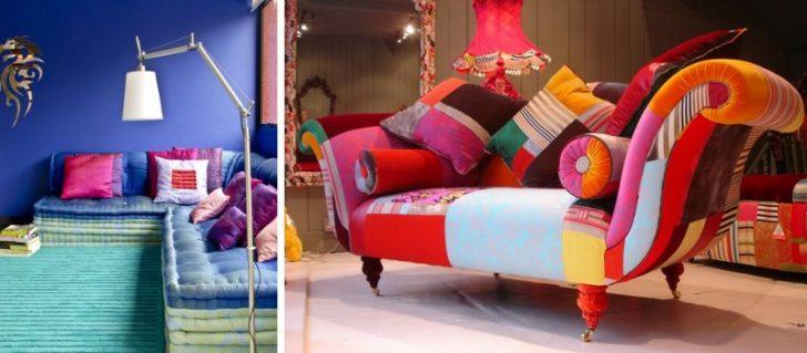 sofas estilo kitsch