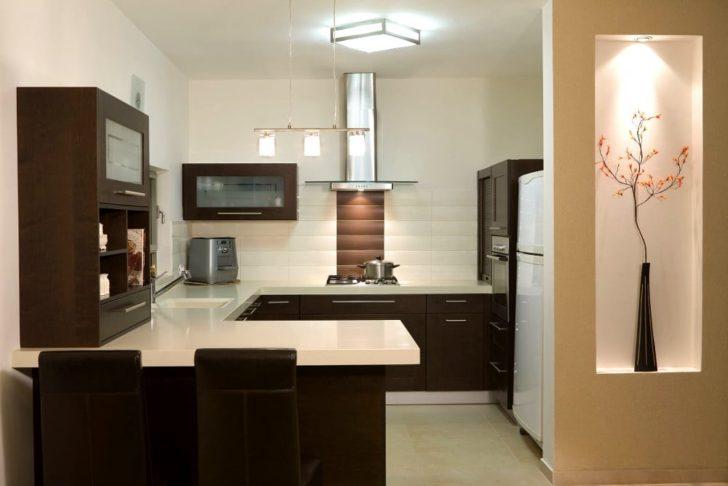 Tipos de distribuciones de los muebles en cocinas casa y - Cocinas con peninsula ...