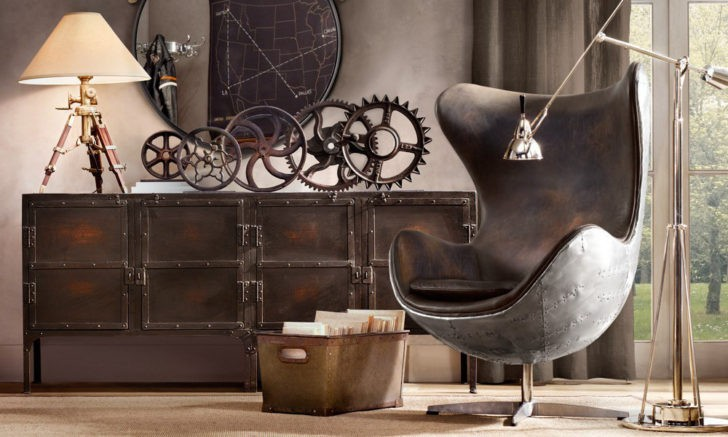 Caracter sticas del estilo industrial en interiores casa for Amazon decoracion salon