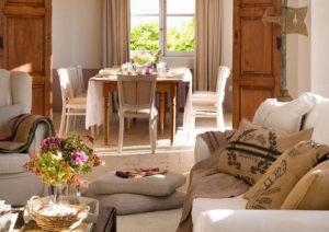 Cómo decorar una casa con estilo rústico campestre