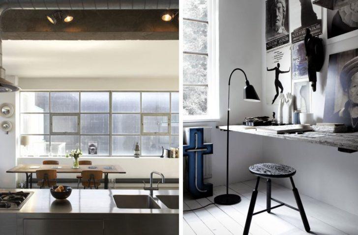 cocina y escritorio