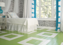 Renovar los pisos con pintura