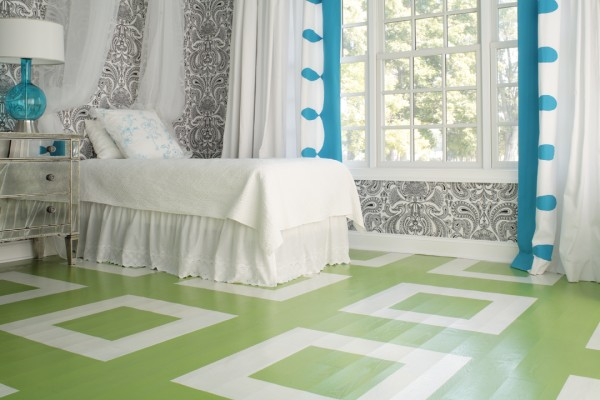Renovar los pisos con pintura casa y color for Combinaciones de pisos para casas