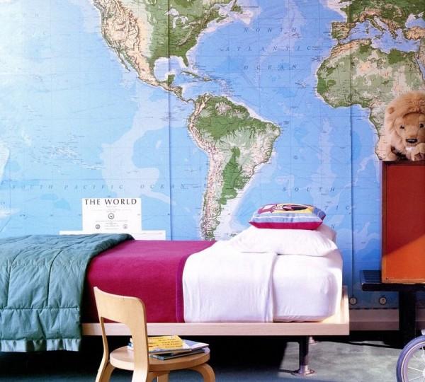 Decorando paredes de habitaciones infantiles casa y color for Decorazioni pareti camere ragazzi