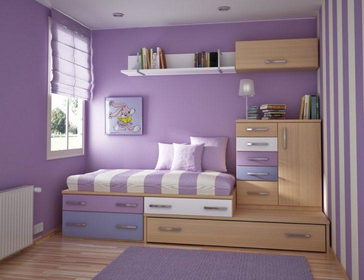 Dormitorio infantil lavanda
