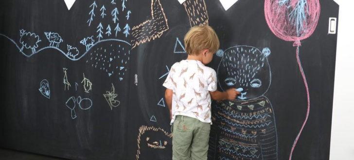 Convierte las paredes en pizarras con pinturas especiales