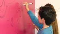 Convierte las paredes en pizarras rotuladoras