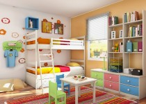 Colores unisex para cuartos infantiles