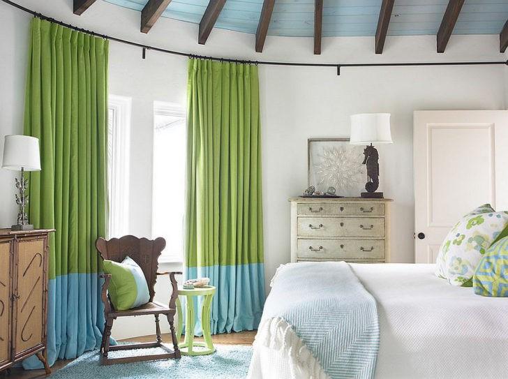 La importancia de las cortinas en decoraci n casa y color - Colores de cortinas ...