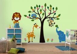 5 ideas para decorar las paredes en habitaciones infantiles