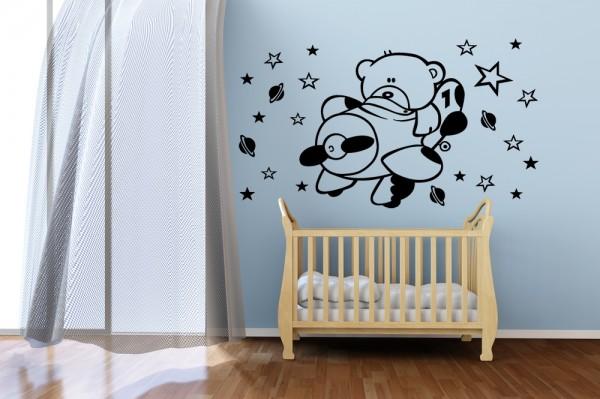 Imagenes para decorar cuartos de bebes for Decoracion para cuarto de bebe varon