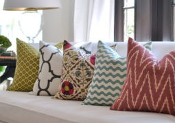 Decora con almohadones de colores varios casa y color - Fotos de cojines decorativos ...