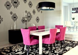 Cómo usar el color rosa para decorar