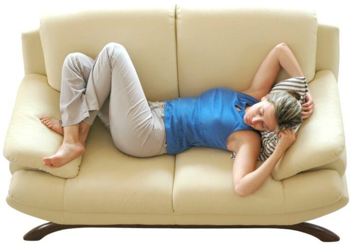 Siesta en el sofa