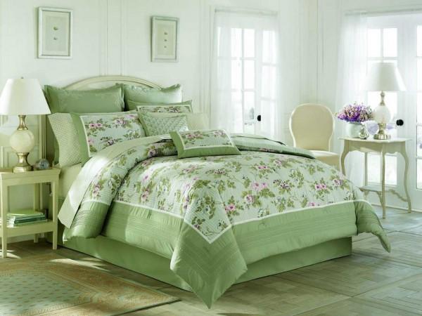 Usando almohadones para decorar la cama - Casa y Color