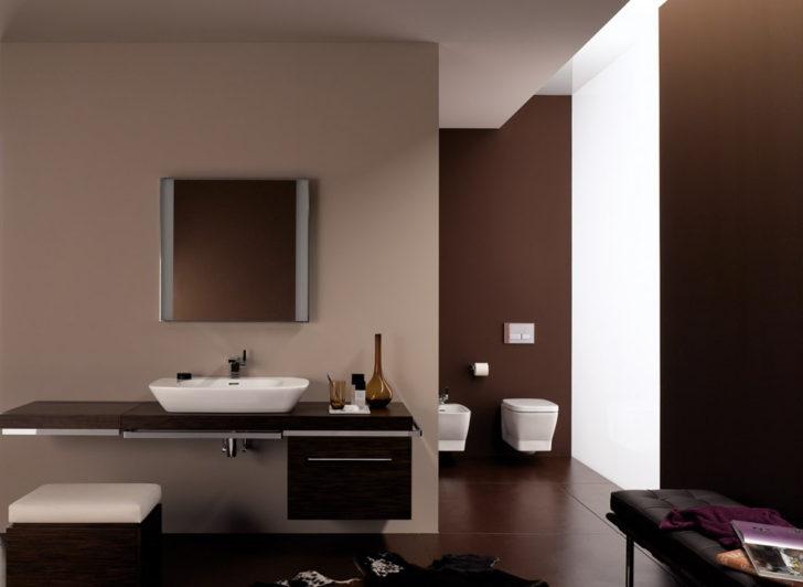 Baño marron beige