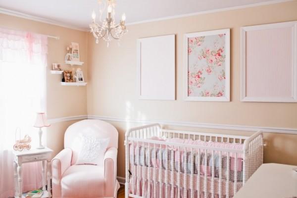 Cuartos de beb s al estilo shabby chic casa y color - Habitaciones shabby chic ...