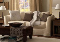 Combinación de colores Marrón – Beige para interiores