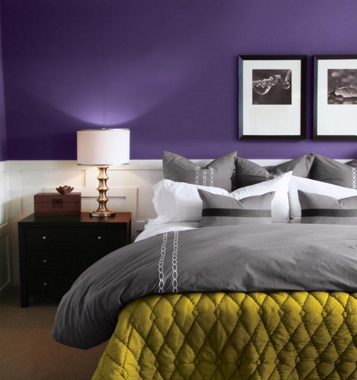 Dormitorio violeta