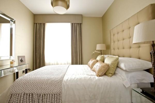 De qu color pintar el dormitorio casa y color - Dormitorio beige ...
