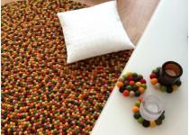 Modernas y cálidas alfombras de lana fabricadas a mano