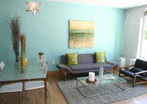 Decoración y pintura Aguamarina, un azul fresco y radiante