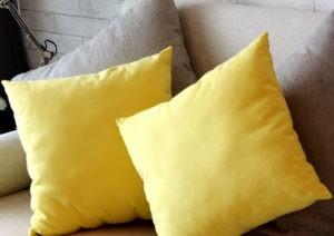 Color de pintura amarillo suave