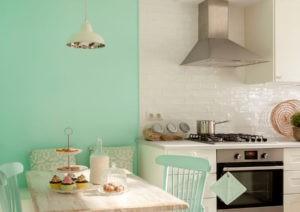Color Verde Menta para pintar las paredes
