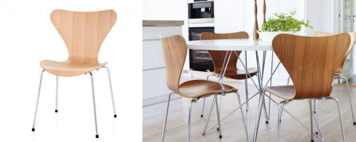Siete sillas de dise o famosas del siglo xx casa y color for Mesas diseno famosas