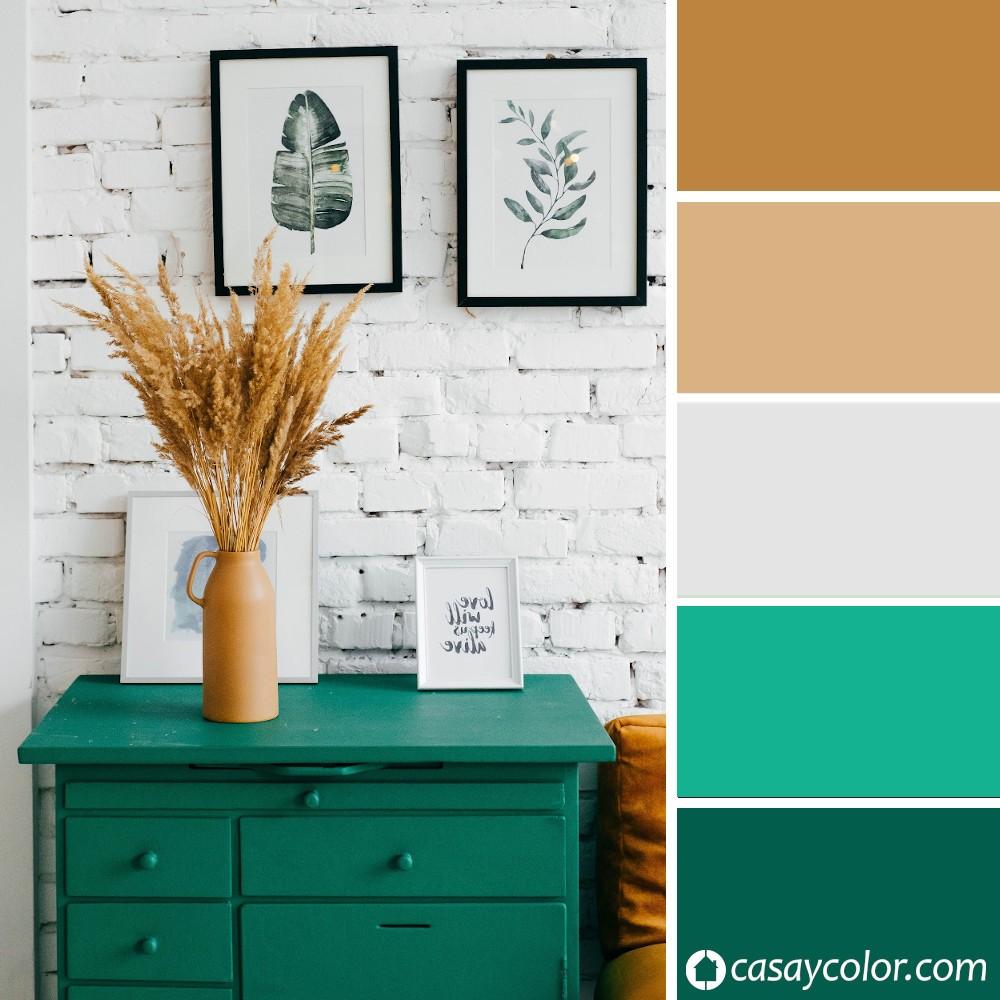 Verde Esmeralda, cómo usarlo para pintar y decorar