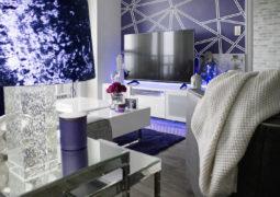 Color índigo para decorar y pintar las paredes en interiores