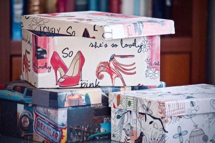 Cajas de cartón decorativas